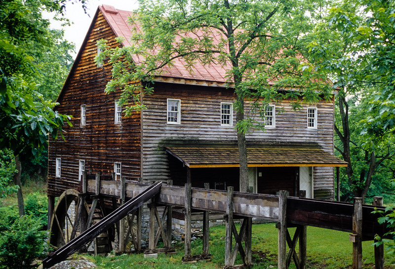 Andrew Zirkle Mill, Forestville, Virginia