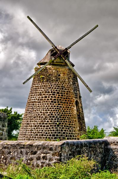 Sugar Mills, Betty's Hope, Antigua