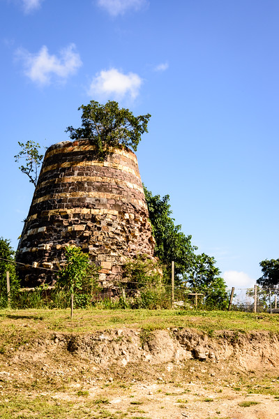 Antigua Sugar Mills are dotted throughout the countryside