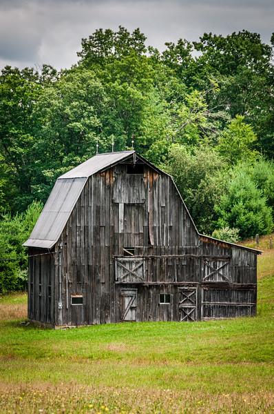 Weathered Barn, Beard Heights, Buckeye, West Virginia