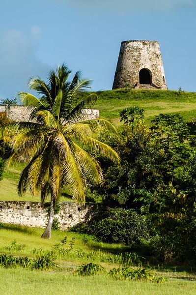 Sugar Cane Windmill, Rust Op Twist Plantation, St. Croix, US Virgin Islands