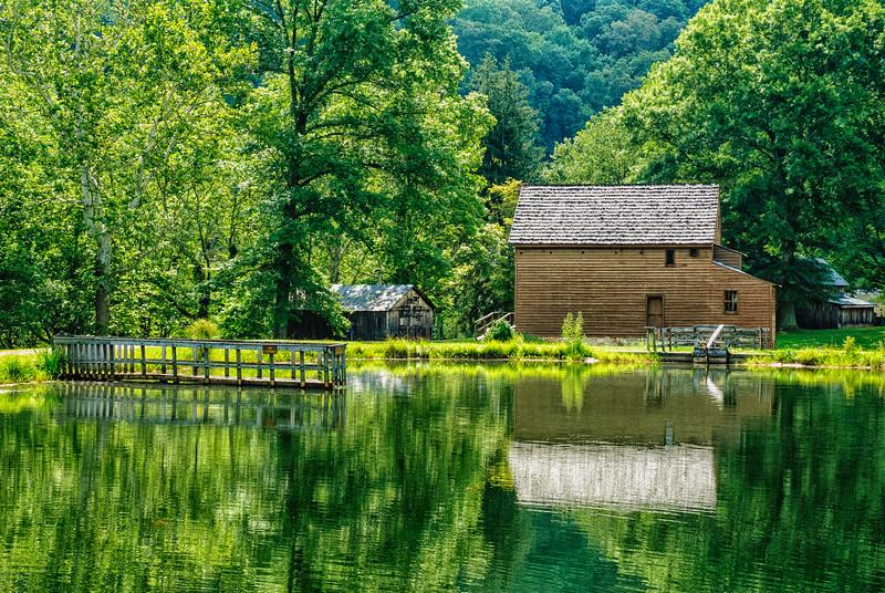 Blaker's Mill, Jackson Mill, Weston, West Virginia, USA