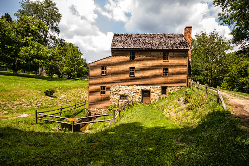 Blaker's Mill, Jackson Mill, Weston, West Virginia, USA