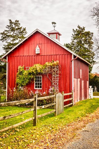 Small Red Barn, South Hamilton Street, Middleburg, Virginia