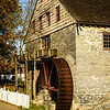 John Herr Grist Mill, Mill Bridge Village, Pennsylvania