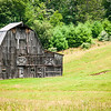 Weathered Barn, Beard Heights, Buckeye, West Virginia