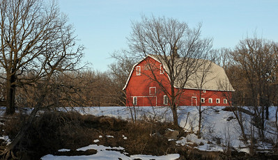 Barns, churches, etc