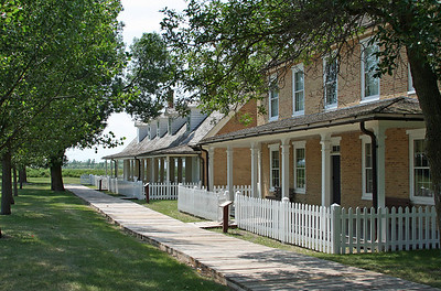 Officer's Quarters....Fort Sisseton.