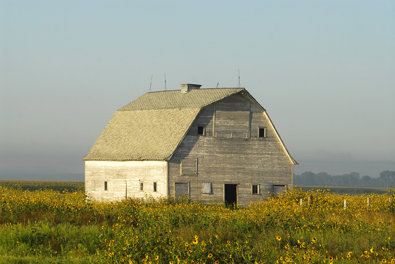 South Dakota Barn - Near Yankton