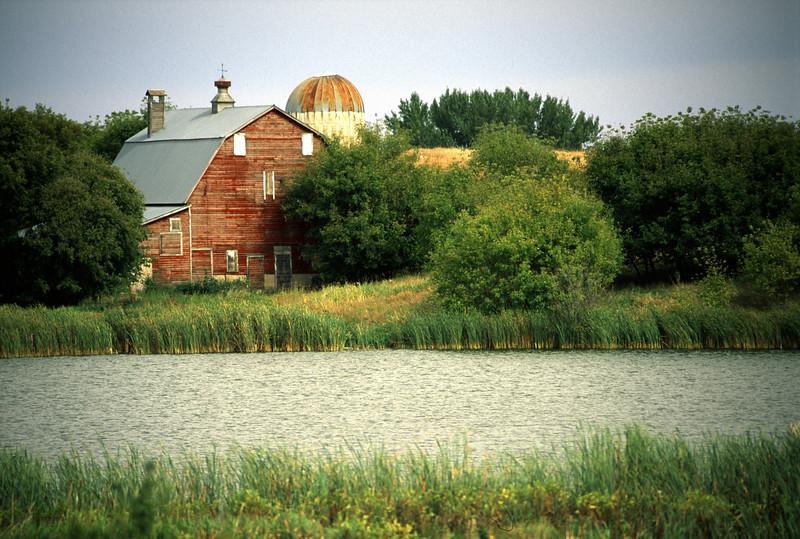 Barn & pond - Western Minnesota