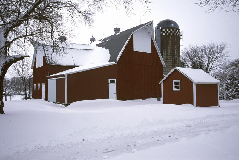 Meeker County Dairy Barn