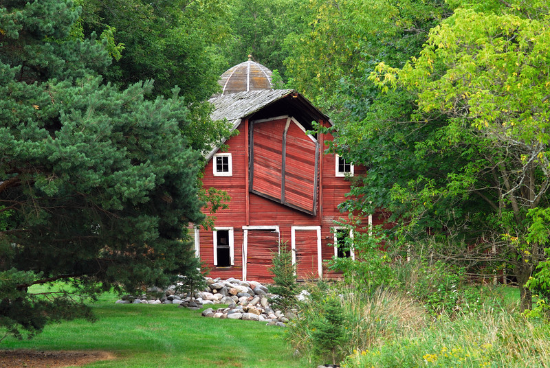 Rum River Barn - Milaca Co.