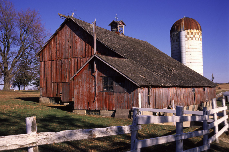 Barn built in 1896 - Waseca Co.
