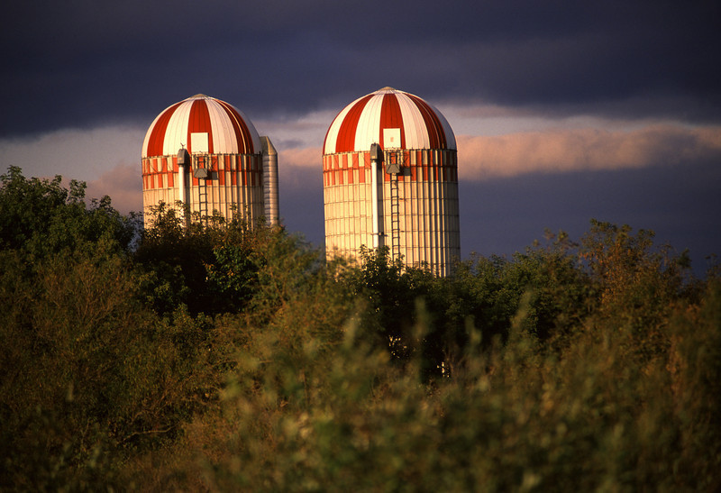 Twin silos - Stearns County