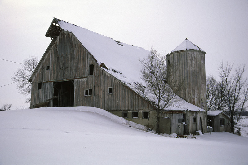 Dutch Barn near Dawson, MN