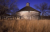 Old round barn near New Ulm, MN