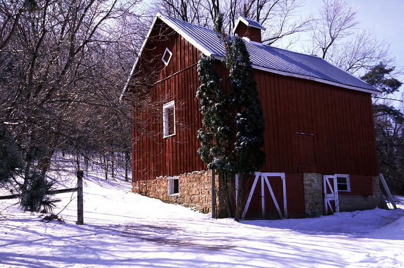 Old barn near Afton, MN
