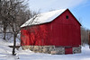 Red barn in Ransom ND