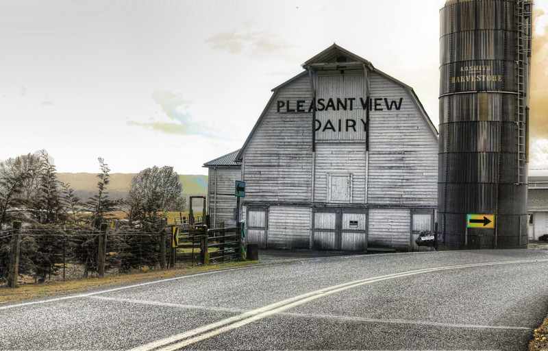 Pleasant View Farm Colorized