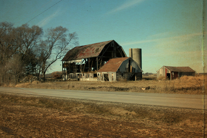 Abandoned Barn (with texture) 1/8/12