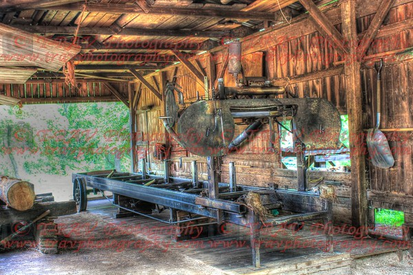 Old fashion Sawmill