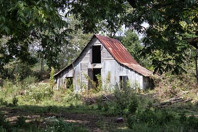 Newton-Sutterfield Farmstead Barn #1 - Alco, AR