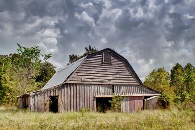 Newton-Sutterfield Farmstead Barn #2 - Alco, AR