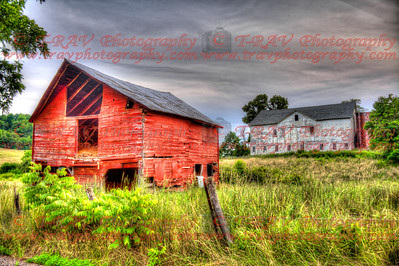 Red & White Barn