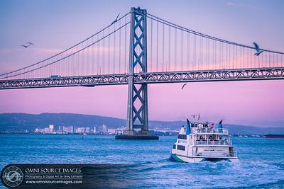 San Francisco Bay Ferry Heading to Oakland
