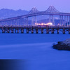 Richmond San Rafael Bridge Twilight