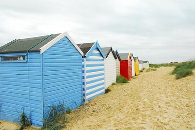 Beach huts, Southwold, 2008.
