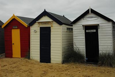 Beach huts, Southwold 2008