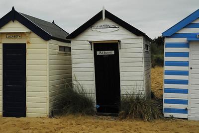 Southwold beach huts, Richard Donkin