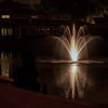 Night Fountain Beekman Lakes
