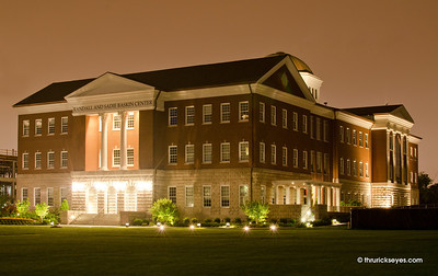 The new law building at Belmont University.