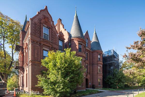 Billings Hall, Wellesley College, progress & completed photos:  10/15/19