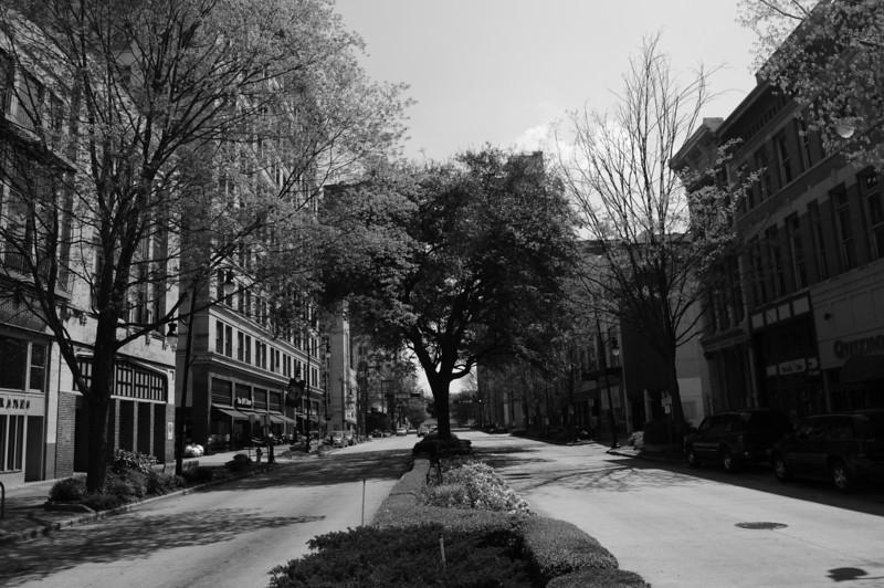 20th Street Facing South