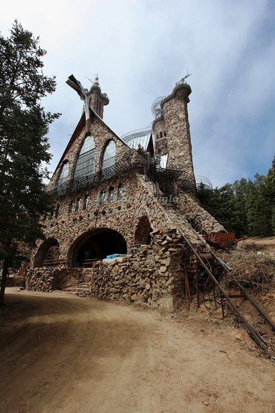 Bishop Castle in Wetmore, Colorado