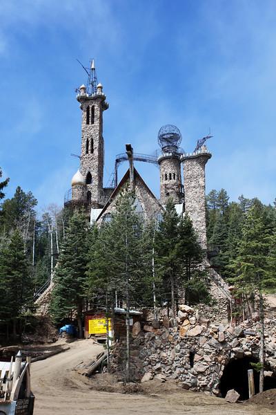 Bishop Castle in Wetmore, Colorado