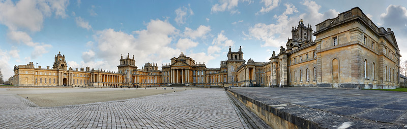 Blenheim Palace Panorama