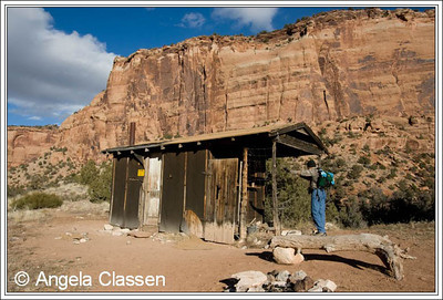 An old abandoned cattleman's shack in Devil's Canyon, near Grand Junction, Colorado