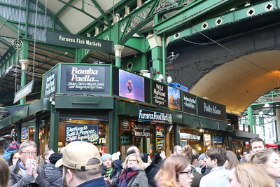Borough Market 13 January 2018