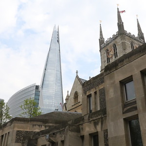 The Shard and Southwark Cathedral 21 April 2018