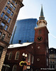 Old South Meeting House - Gethering Place where Tea Party Mob Started