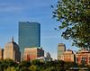 Boston Skyline from Boston Common