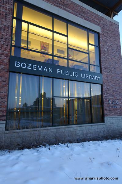 Bozeman Public Library Downtown Photography by Jim R Harris