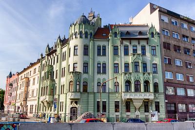 Art nouveau building, Bratislava