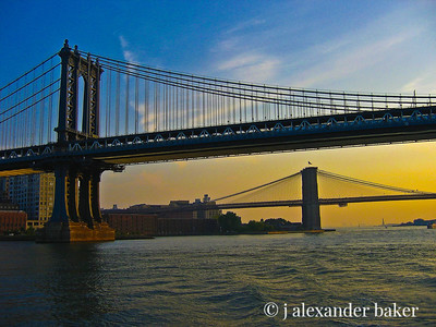 East River Bridges, NYC