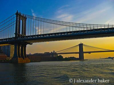 East River Bridges, NYC
