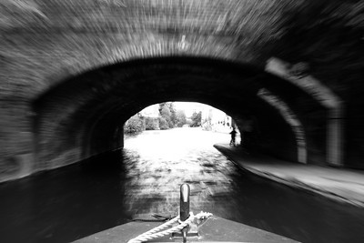On the Regents Canal in London, England